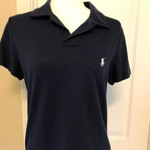 Brand new! Ladies Ralph Lauren SS Top- Navy